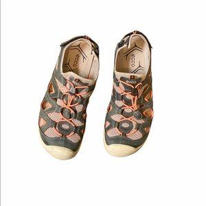 ECCO | Men's Yak Leather Sandals Size 41